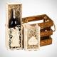 Подарочные деревянные коробки для бутылок