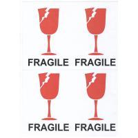 "Наклейки ассорти ""Fragle"" хрупкий груз 20шт/уп"