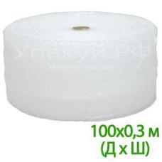 """Воздушно пузырьковая пленка, 100*0.3 м """"Компакт"""" двухслойная"""