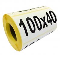 Термоэтикетка 100х40/500 ЭКО