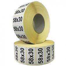 Термоэтикетка 58х30/6000 ЭКО