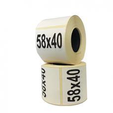 Термоэтикетка 58х40/3000 ЭКО