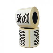 Термоэтикетка 58х60/500 ЭКО
