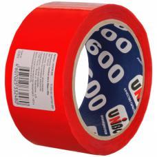 Скотч (клейкая лента) красный 48 мм*50 м, 45 мкм