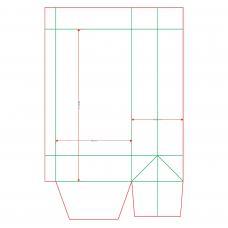 Пакет А5 вертикальный, 140х280х95 мм