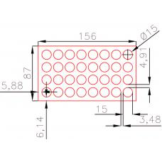 Круги диаметром 15 мм