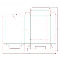 Футляр-коробка для карт Таро 66х120 мм
