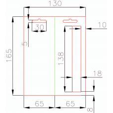 Европодвес 65x165 мм