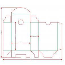Коробка для колоды 73х109х33 мм