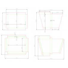 Коробка трехсостовная