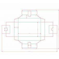 Ложемент для колоды карт Таро 66х120 мм