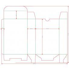 Футляр-коробка с ложементом для колоды карт Таро 66х120 мм
