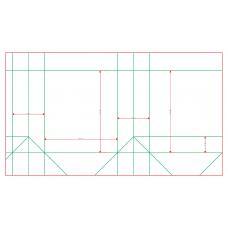 Пакет А5 квадратный, 160х180х70 мм