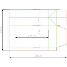 Пакет вертикальный 150x280x110 мм