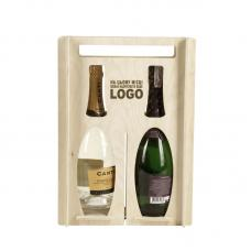«Коробка для 2 х бутылок»
