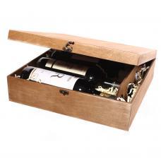 Упаковка для 4 бутылок вина (модель №19)