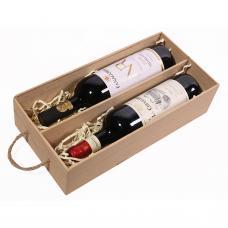 Пенал для 2 бутылок вина (модель №9)