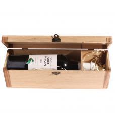 Коробка «Сундучок» для 1 бутылки, размер XL (модель №6)