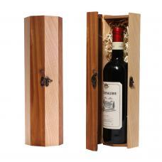 Упаковка «Восьмигранник» для 1 бутылки вина (модель №16)