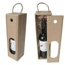 Коробка — пенал для 1 бутылки вина (модель №1)