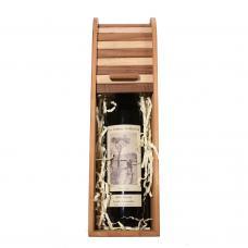 Уникальная подарочная коробка для 1 бутылки вина (модель №21)
