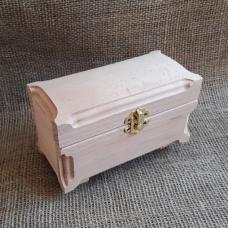 Шкатулка деревянная Куфр прямоугольный