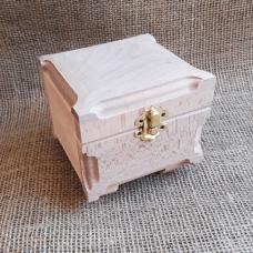 Шкатулка деревянная Куфр квадратный