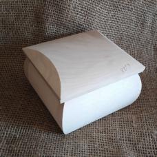 Шкатулка деревянная 11 х 11 см